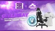 Enter This Clutch Chair & Fortnite V-Bucks Giveaway!