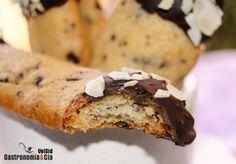 Galletas crujientes con chocolate (sin huevo)