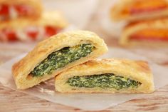 Spinach Ricotta Pop-Tarts! A Pop-Tart like you have never seen them before. Who…