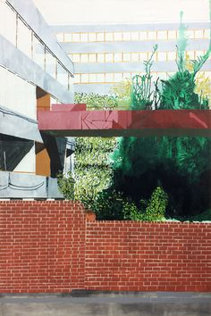 It's Nice That | Social housing on the brink of demolition, as painted by visual artist Michael Cox