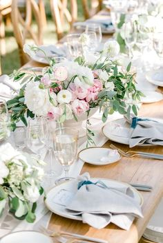 This Couple Will Inspire You to Stay True to You Throughout the Entire Wedding Planning Process Reception Table, Wedding Reception Decorations, Wedding Centerpieces, Table Decorations, Wedding Ideas, Wedding Shit, Wedding Tables, Wedding Ceremony, Dream Wedding