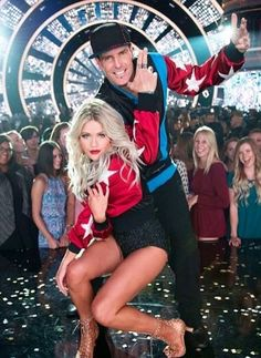 Vanilla Ice and Witney Dancing with the stars season 23
