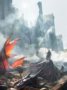 The World of Ice and Fire on Behance by Karla Ortiz