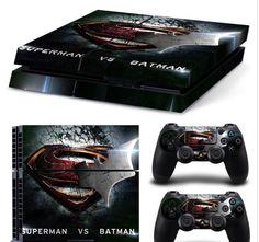 Batman vs Superman PS4 Skin