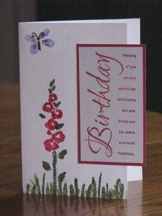 gladsome garden - stampin up site:pinterest.com | Stampin' Up Spring Garden…