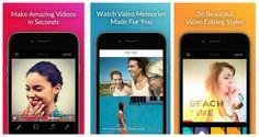 Replay es una aplicación que te permite crear videos animados de forma rápida, mediante la mezcla de imágenes, clips cortos y sonido en una variedad de estilos. el recurso está disponible para los móviles de Apple.