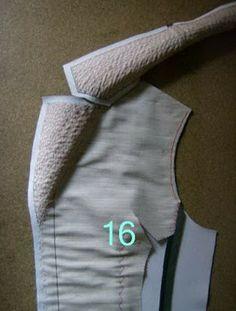 Pad stitching - tailoring a jacket