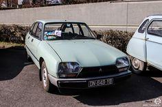 #Citroën #GS au salon de Reims. Reportage complet : http://newsdanciennes.com/2016/03/13/grand-format-les-belles-champenoises-depoque-2016/ #ClassicCar #Vintage #Car #Voiture #Ancienne