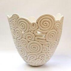 9 Loving Tips AND Tricks: Green Vases Shabby Chic copper vases raku pottery. Hand Built Pottery, Slab Pottery, Pottery Art, Coiled Pottery, Pottery Sculpture, Thrown Pottery, Pottery Studio, Pottery Clay, Pottery Wheel
