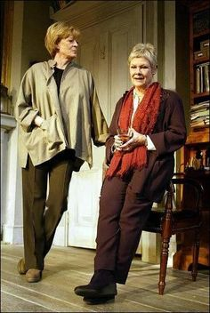 """Maggie Smith and Judi Dench, """"The Breath of Life"""", 2002"""