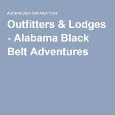Outfitters & Lodges - Alabama Black Belt Adventures