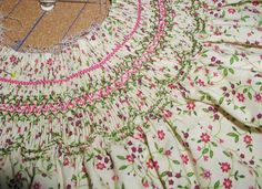 Free Smocking Patterns and Plates | summer smocking1...I have to learn to smock. That's all there is to it.