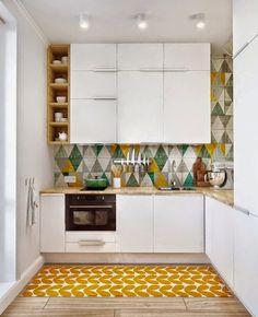 Новая кухня: на чём можно и нельзя экономить маленькая белая кухня   small white kitchen