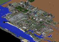 Audia Project: Huge Minecraft City (World Record) Minecraft Project