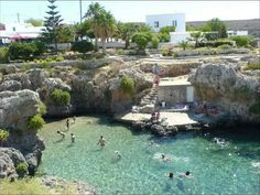 Like a Natural pool,, Kythira island