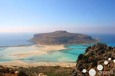 Beaches on the island of Crete, Greece. Such a beautiful island to explore.