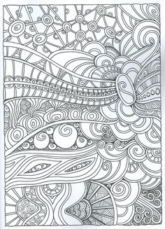 Creative Haven Entangled Coloring Book (Adult Coloring) Colouring Pages, Adult Coloring Pages, Free Coloring, Coloring Books, Mandala Pattern, Zentangle, Doodles, Coping Skills, Art Therapy