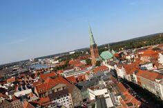 Fantastische Aussicht auf Lübeck