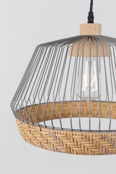Zuiver Birdy pendant lamp is available in two variants Rattan Pendant Light, Pendant Lamp, Pendant Lighting, Chandelier, Lamp Design, Diy Design, Ceiling Lamp, Ceiling Lights, Etagere Design