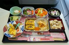 EVA Airways Hello Kitty Jet | 18 Airplane Foods From Around The World