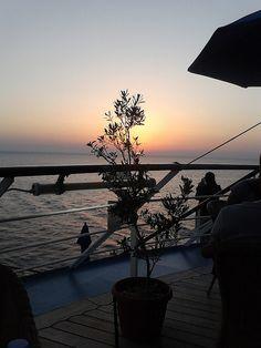 Dusk sailing on Mediterranean  - loved this cruise - thanks Windsurf