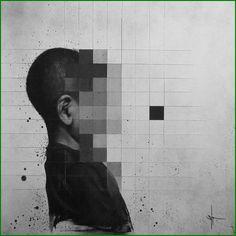 L'artiste néerlandais SIT revient avec deux nouvelles séries d'illustrations «Haiiro» et «Haiiro Trash»