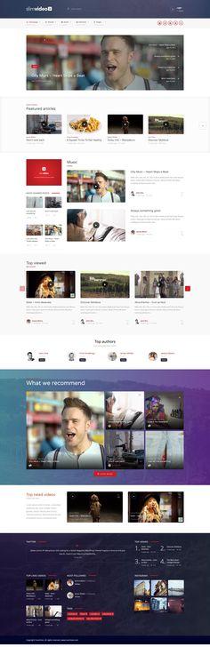 Wordpress Theme Design, Web Design, Design Web, Website Designs, Site Design