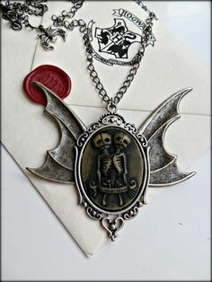 Gothic Jewellery - http://www.etsy.com/shop/TheCryptOfCuriositie