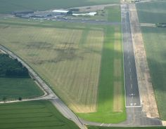 Turweston Airfield - showing new runway