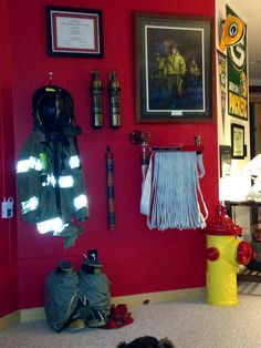 I like the idea of displaying turnout gear