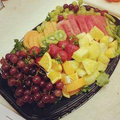 Fruit tray I made!