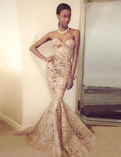 Lace Prom Dress,Sweep Train Prom Dress, Modern Prom Dress,Mermaid Prom Dress,Handmade Prom Dress,PD0028