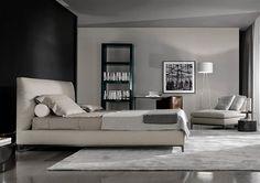 doppelbetten bett andersen von minotti furniture m bel. Black Bedroom Furniture Sets. Home Design Ideas