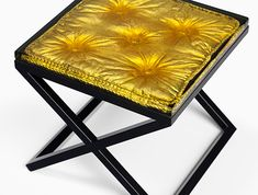 Barbarella Bench designed by McCollin Bryan for HOLLY HUNT