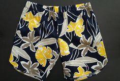 navy floral linen shorts #kaboo fashion.....