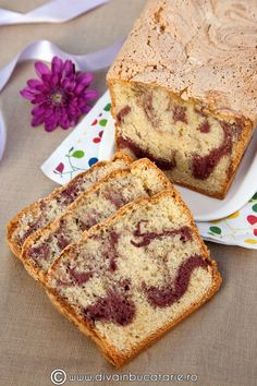 Dessert Recipes, Desserts, Sweet Bread, Banana Bread, French Toast, Muffins, Fruit Cakes, Sweets, Breakfast