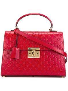 GUCCI Padlock Gg Supreme Tote. #gucci #bags #shoulder bags #hand bags #leather #tote #