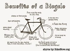 benefits of a bicycle tshirt from CICLE