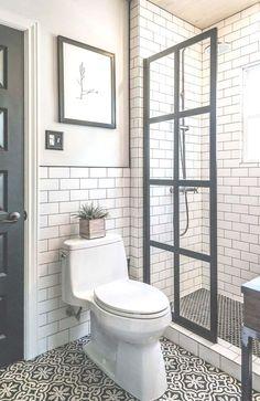 Bathroom decor for the master bathroom renovation. Discover bathroom organization, master bathroom decor some ideas, master bathroom tile a few ideas, bathroom paint colors, and more. Tiny House Bathroom, Bathroom Design Small, Basement Bathroom, Bathroom Designs, Small Bathrooms, Bathroom Cabinets, Bathroom Mirrors, Master Bathrooms, Master Shower
