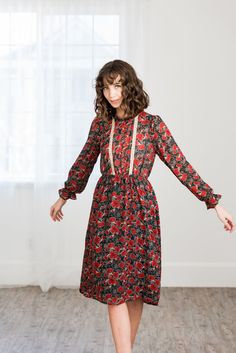 Ashton Floral Dress