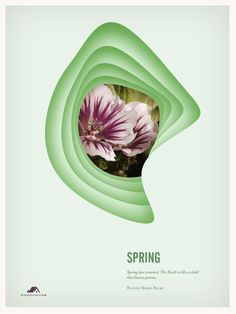 The Four Seasons by Woodhouse , via Behance