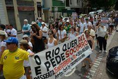 """BLOG  """"O ETERNO APRENDIZ"""" : MORADORES DA ZONA SUL DO RIO VÃO AS RUAS EM PROTES..."""