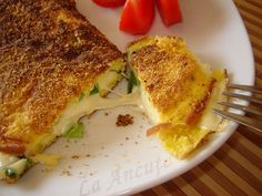 La Ancuţa: Omleta in crusta de malai