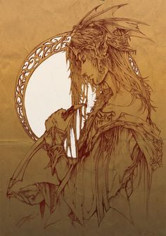 I am in complete awe of the beauty of the sketch itself let alone everything within it. Tales of the bloody crown by Brilcrist.deviantart.com on @deviantART
