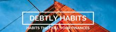 About Debtly Habits; Tell My Story, Getting Out, Personal Finance, About Me Blog, Knowledge, Neon Signs, How To Get, Writing, Reading