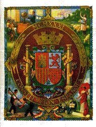 Portada de la Constitución de 1931, con el Escudo de la II Republica.