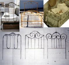 Pequeñeces: DIY How to build a miniature cot/// tutorial may need translation Dollhouse Miniature Tutorials, Miniature Rooms, Miniature Crafts, Miniature Houses, Miniature Furniture, Diy Dollhouse, Dollhouse Furniture, Dollhouse Miniatures, Fairy Furniture