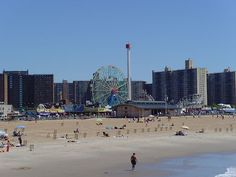 Coney Island, I love amusement parks and this is one I have wanted to go to since I was little.