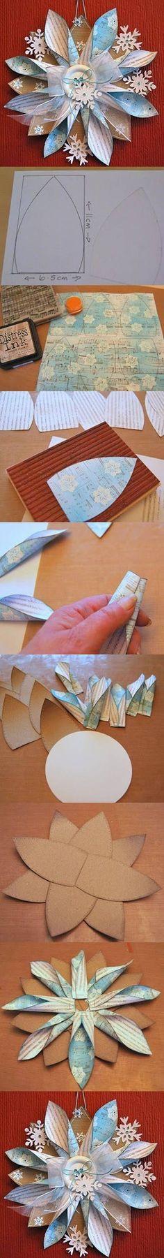Beautiful Paper Decoration | DIY & Crafts (try diy fun)