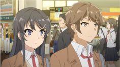Anime : seishun buta yarou wa bunny girl senpai no yume wo minai All Anime, Manga Anime, Anime Art, Anime Films, Anime Characters, Playboy Bunny Costume, Otaku, Mai Sakurajima, Cute Anime Coupes